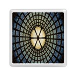 Stained Glass Colorful Glass Memory Card Reader (Square)  Front