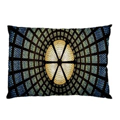 Stained Glass Colorful Glass Pillow Case (Two Sides)