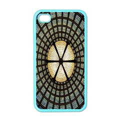 Stained Glass Colorful Glass Apple iPhone 4 Case (Color)