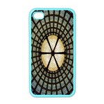 Stained Glass Colorful Glass Apple iPhone 4 Case (Color) Front