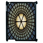 Stained Glass Colorful Glass Apple iPad 2 Case (Black) Front