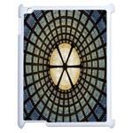 Stained Glass Colorful Glass Apple iPad 2 Case (White) Front