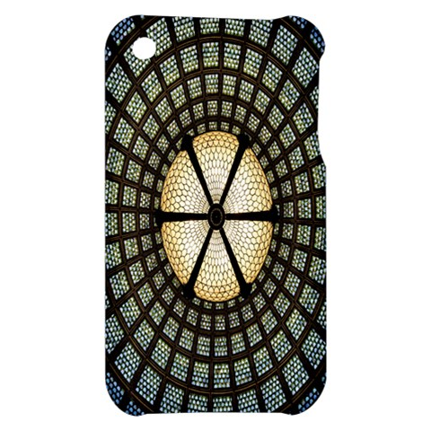 Stained Glass Colorful Glass Apple iPhone 3G/3GS Hardshell Case