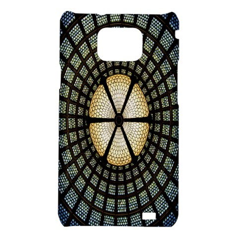 Stained Glass Colorful Glass Samsung Galaxy S2 i9100 Hardshell Case