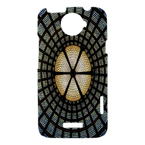 Stained Glass Colorful Glass HTC One X Hardshell Case