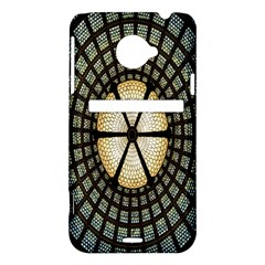 Stained Glass Colorful Glass HTC Evo 4G LTE Hardshell Case