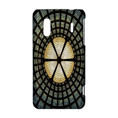 Stained Glass Colorful Glass HTC Evo Design 4G/ Hero S Hardshell Case