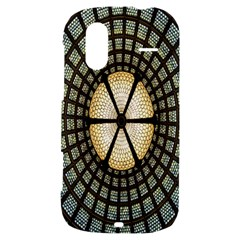 Stained Glass Colorful Glass HTC Amaze 4G Hardshell Case