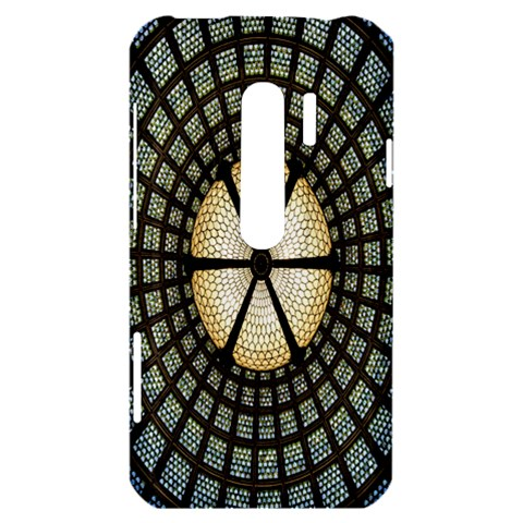 Stained Glass Colorful Glass HTC Evo 3D Hardshell Case