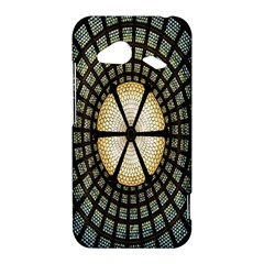 Stained Glass Colorful Glass HTC Droid Incredible 4G LTE Hardshell Case