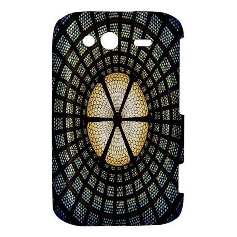 Stained Glass Colorful Glass HTC Wildfire S A510e Hardshell Case