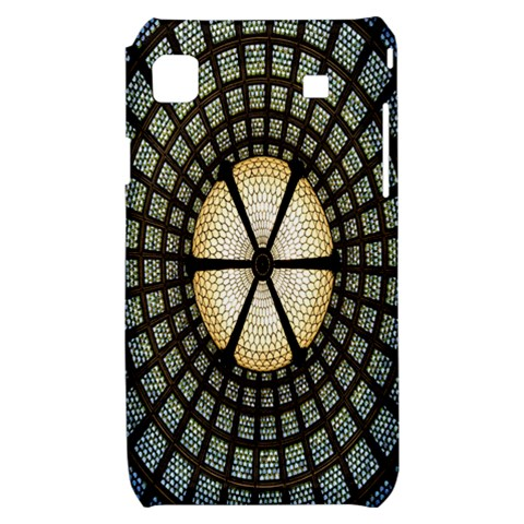 Stained Glass Colorful Glass Samsung Galaxy S i9000 Hardshell Case