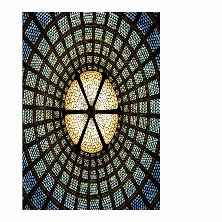 Stained Glass Colorful Glass Small Garden Flag (Two Sides)