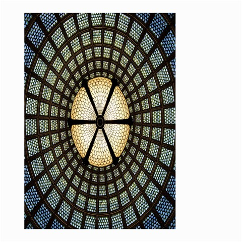 Stained Glass Colorful Glass Large Garden Flag (Two Sides)