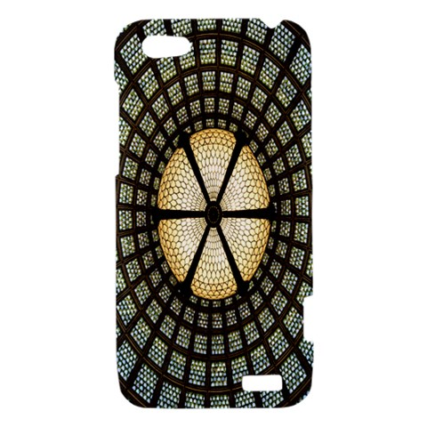 Stained Glass Colorful Glass HTC One V Hardshell Case