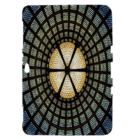 Stained Glass Colorful Glass Samsung Galaxy Tab 8.9  P7300 Hardshell Case