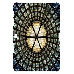 Stained Glass Colorful Glass Samsung Galaxy Tab 10.1  P7500 Hardshell Case