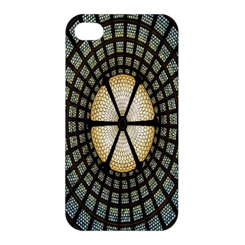 Stained Glass Colorful Glass Apple iPhone 4/4S Premium Hardshell Case