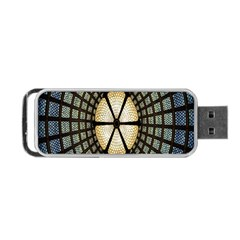 Stained Glass Colorful Glass Portable USB Flash (One Side)