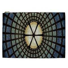Stained Glass Colorful Glass Cosmetic Bag (XXL)