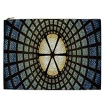 Stained Glass Colorful Glass Cosmetic Bag (XXL)  Front