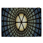 Stained Glass Colorful Glass Cosmetic Bag (XXL)  Back