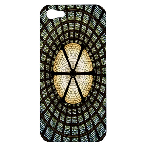 Stained Glass Colorful Glass Apple iPhone 5 Hardshell Case