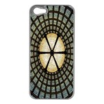 Stained Glass Colorful Glass Apple iPhone 5 Case (Silver) Front