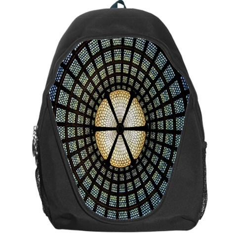 Stained Glass Colorful Glass Backpack Bag