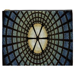 Stained Glass Colorful Glass Cosmetic Bag (XXXL)