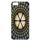 Stained Glass Colorful Glass Apple iPhone 5 Seamless Case (White) Front