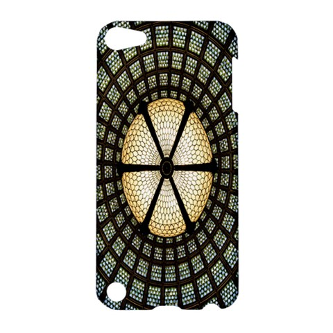 Stained Glass Colorful Glass Apple iPod Touch 5 Hardshell Case
