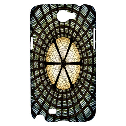Stained Glass Colorful Glass Samsung Galaxy Note 2 Hardshell Case