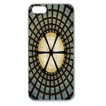 Stained Glass Colorful Glass Apple Seamless iPhone 5 Case (Clear) Front
