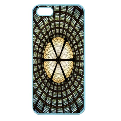 Stained Glass Colorful Glass Apple Seamless iPhone 5 Case (Color)