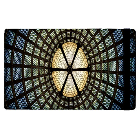 Stained Glass Colorful Glass Apple iPad 2 Flip Case