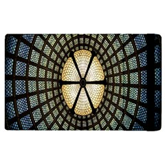 Stained Glass Colorful Glass Apple iPad 3/4 Flip Case