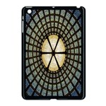 Stained Glass Colorful Glass Apple iPad Mini Case (Black) Front