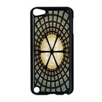Stained Glass Colorful Glass Apple iPod Touch 5 Case (Black) Front