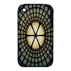 Stained Glass Colorful Glass Apple iPhone 3G/3GS Hardshell Case (PC+Silicone)