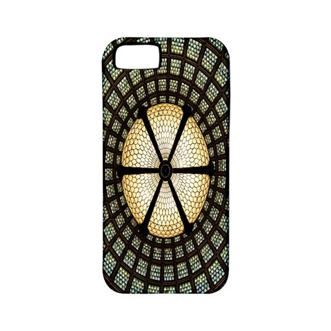 Stained Glass Colorful Glass Apple iPhone 5 Classic Hardshell Case (PC+Silicone)