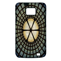 Stained Glass Colorful Glass Samsung Galaxy S II i9100 Hardshell Case (PC+Silicone)