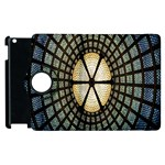 Stained Glass Colorful Glass Apple iPad 2 Flip 360 Case Front