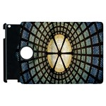 Stained Glass Colorful Glass Apple iPad 3/4 Flip 360 Case Front