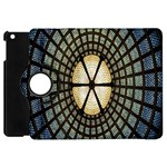 Stained Glass Colorful Glass Apple iPad Mini Flip 360 Case Front