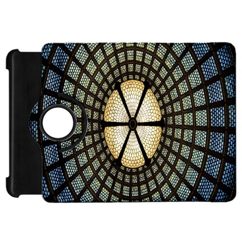 Stained Glass Colorful Glass Kindle Fire HD Flip 360 Case