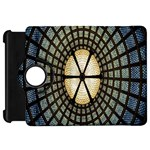 Stained Glass Colorful Glass Kindle Fire HD Flip 360 Case Front