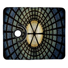 Stained Glass Colorful Glass Samsung Galaxy Note II Flip 360 Case