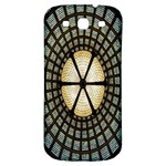 Stained Glass Colorful Glass Samsung Galaxy S3 S III Classic Hardshell Back Case Front