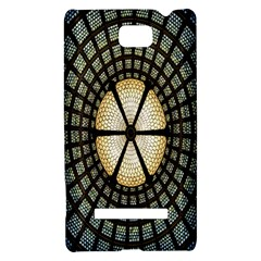 Stained Glass Colorful Glass HTC 8S Hardshell Case